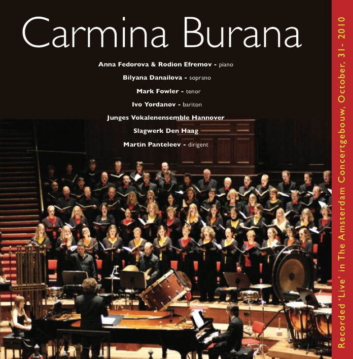 CD-Cover Carmina Burana